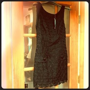 NWT- Lace shift dress XS- cute!!